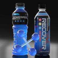 bottle of powerade