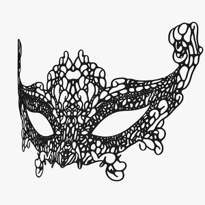 mask eyes model