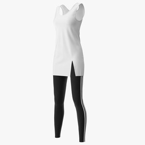 3D shirt leggings