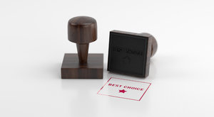 stamp rubber handle 3D