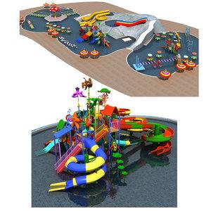 3D water park