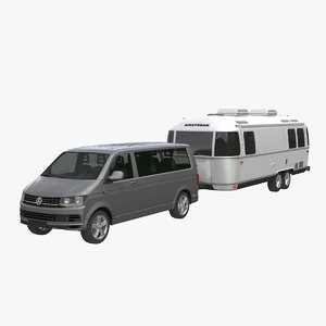 airstream land yacht caravelle 3D