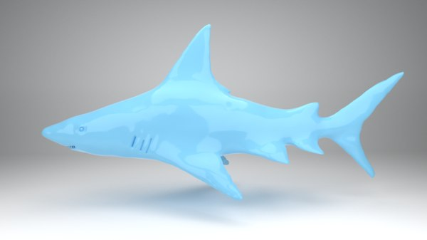 shark animation model