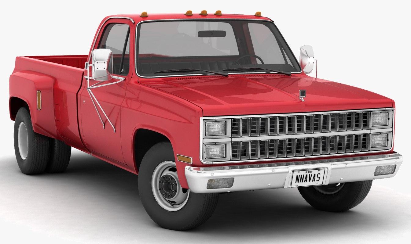 dually pickup truck 1 model
