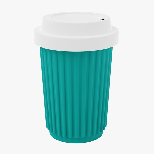 byo coffee cup 3D model