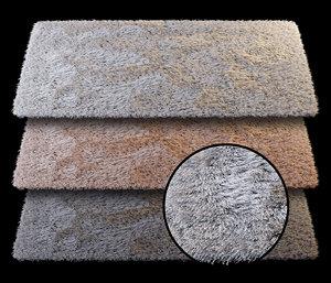 3D carpet thread