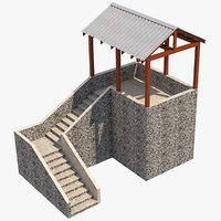 platform 6 3D model