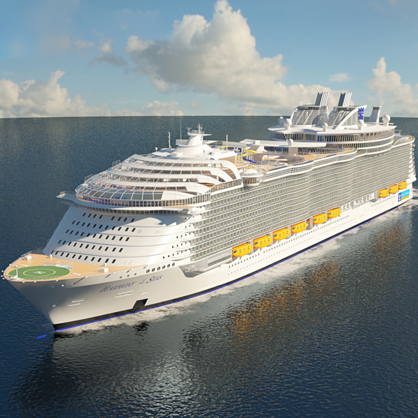 3D harmony seas cruise