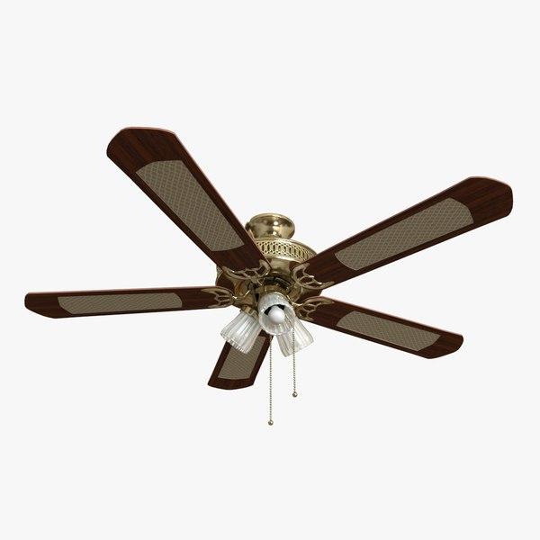 ceiling fan 3D