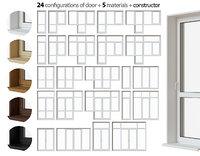 Balcony door collection