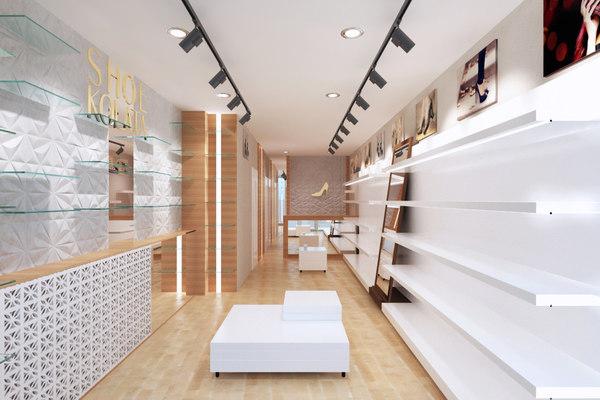 shoe store shop 3D model