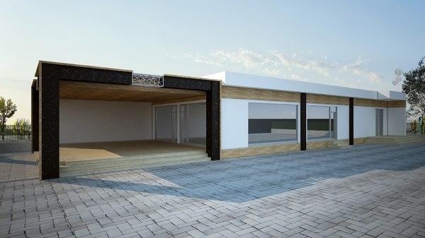 multi-purpose building s model