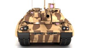 amx-56 leclerc 3D