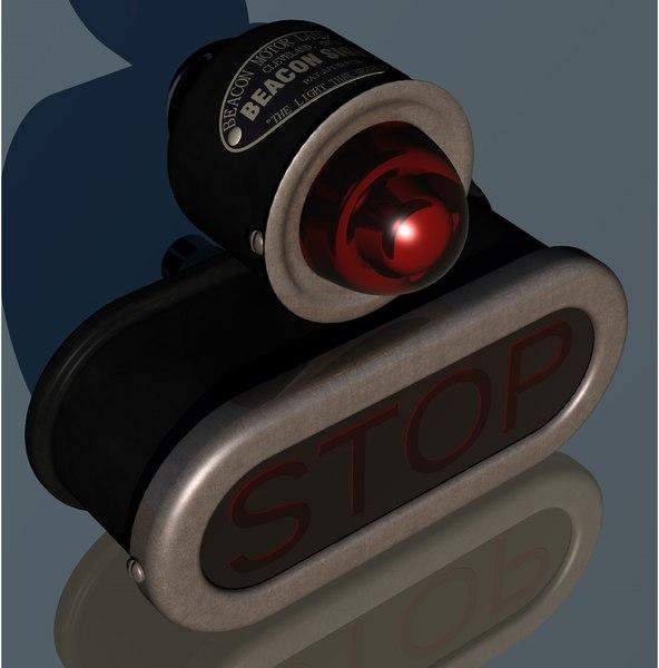 3D beacon motor lamp mfg
