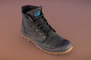 palladium boot 3D model