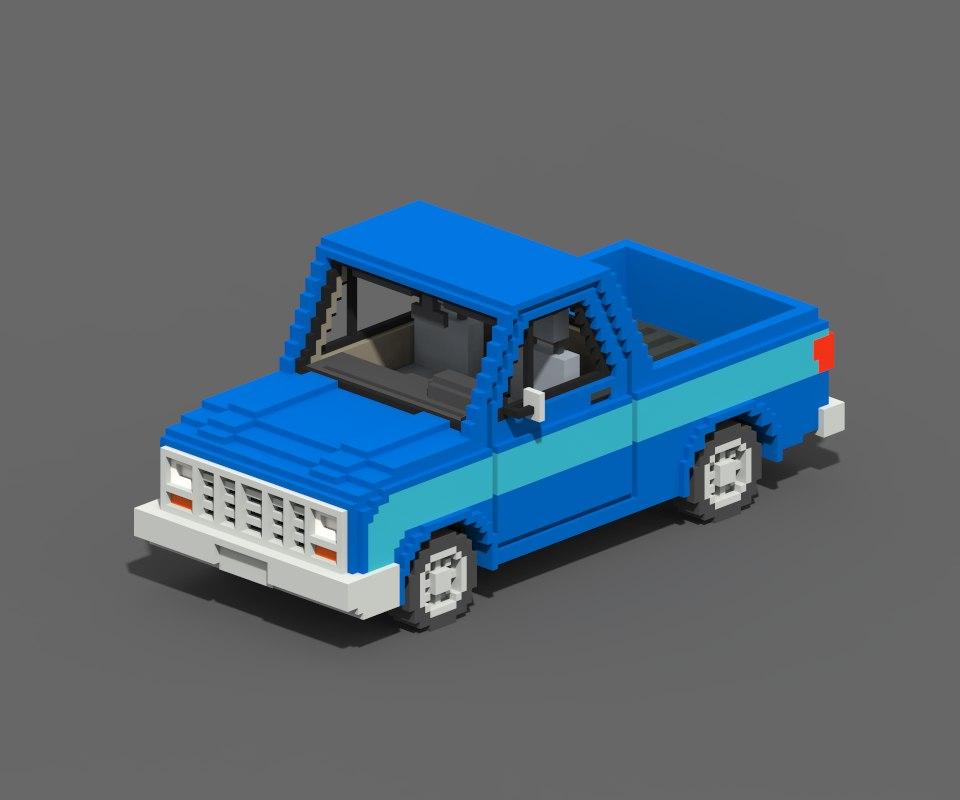 3D voxel pickup