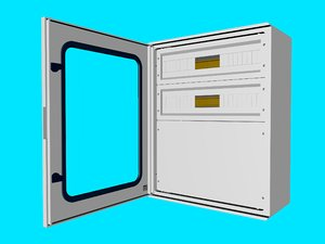 3D electrical cabinet