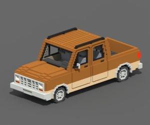 voxel long pickup 3D