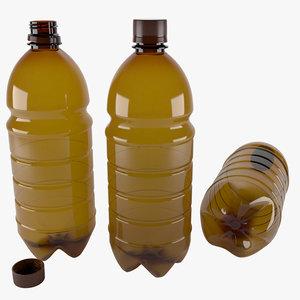 bottle 1 liter 3D model