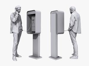 3D phone talk