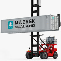Kalmar DCG80-100 Container Handler