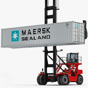 kalmar dcg80-100 container handler 3D model