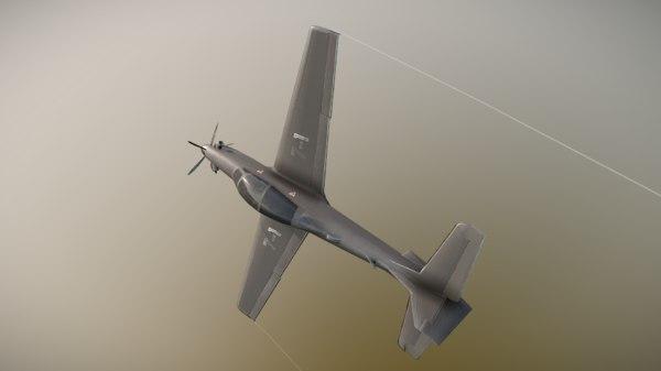emb312 jet fighter 3D model