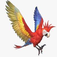 parrot animal 3D model