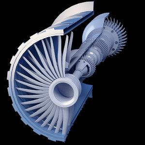 3D model propeller