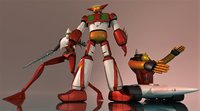 getter robot 3D model