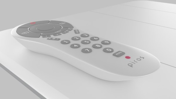 remote product 3D model