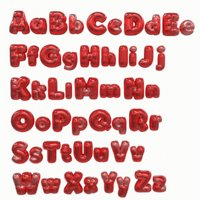 3D balloon alphabet pack