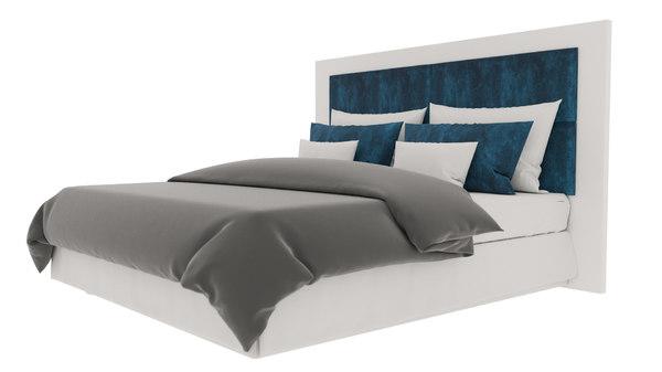 interior master bed room 3D