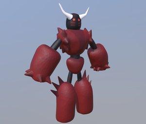 monster character 3D