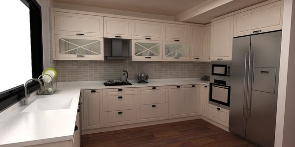 style kitchen 3D model