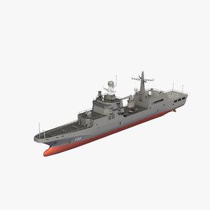 ivan gren landing ship 3D model