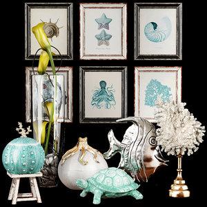 decorative set 46 model
