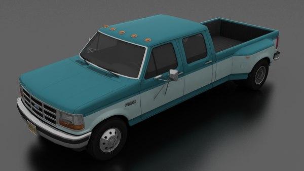 3D f-350 drw crew cab