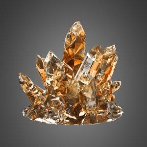 3D crystals corona