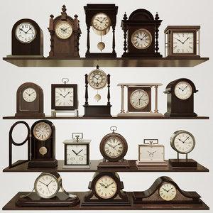desk clock model
