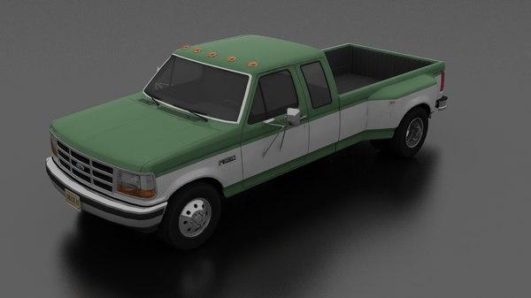 3D f-350 drw pickup 1992