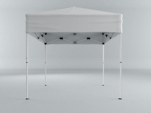 tent modeled model