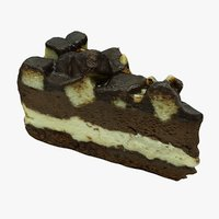 3D model cake mc