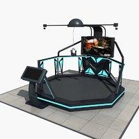 3D vr equipment