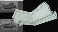 3D molding cornice