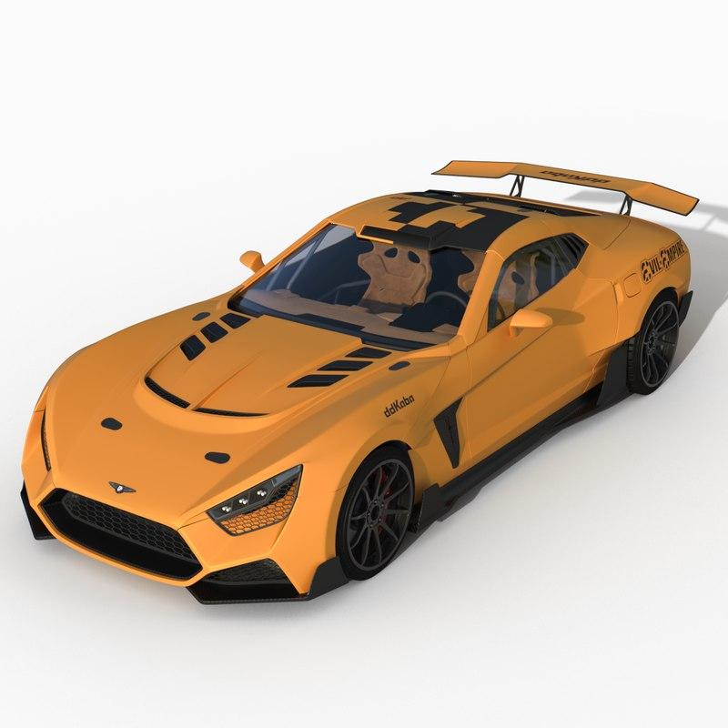 3D car drift