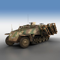sd kfz 1 ausf 3D model