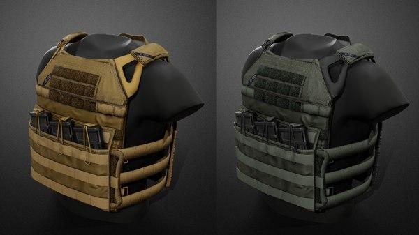 3D jpc vest