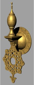 3D 1001 nights themed door knocker