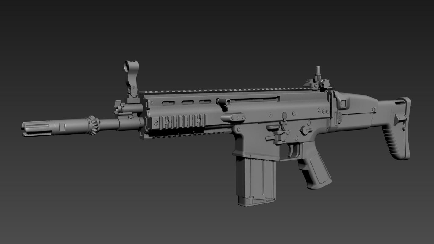 3D model scar h